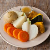 ほくほく蒸し野菜
