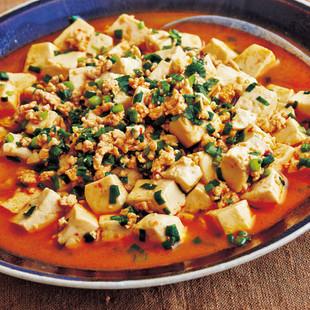 とりひき肉のさらさら麻婆豆腐