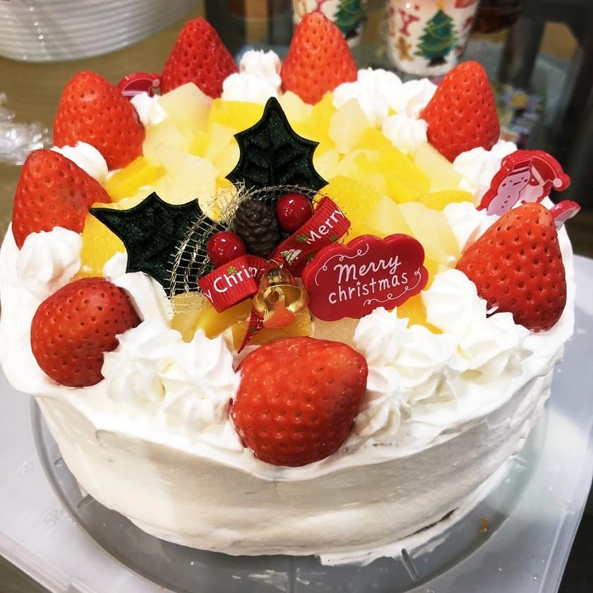 ズボラ簡単ケーキ♡Xmasや誕生日にも♡