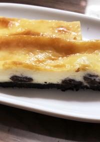 簡単!大人の♥ベイクドチーズケーキ