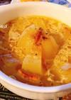 簡単 レンジで まるごと 玉ねぎスープ