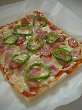 おもちピザ