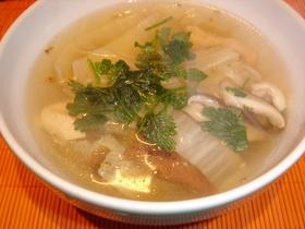 アジアン白菜スープ