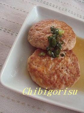卵なしでヘルシー✿豆腐ハンバーグ