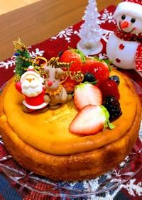 濃厚♡自慢のベイクドチーズケーキ