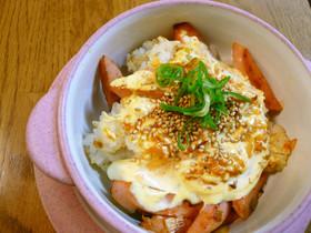 ピリ辛☆コチュジャンマヨの焼きご飯