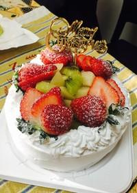 クリスマス★デコレーションケーキ