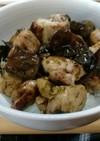 キクラゲと鶏肉ののり旨丼