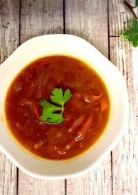 トマトカレー★リメイク★野菜カレースープ