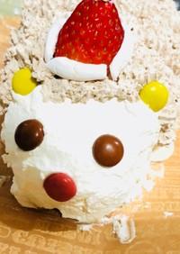 ハリネズミケーキ