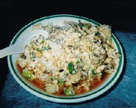 豆腐の天津飯