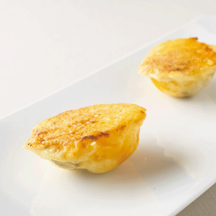 じゃがいもとかぼちゃのボールパルミジャーノ・チーズ焼き