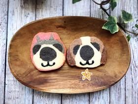 アイスボックスクッキー★いぬ(右)