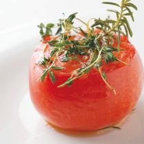フレッシュハーブのトマトロースト