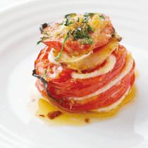 トマトと玉ねぎのロースト