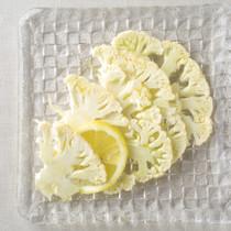 カリフラワーのレモンマリネ