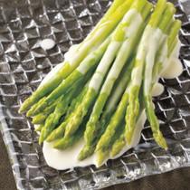 グリーンアスパラガスのクリーム煮