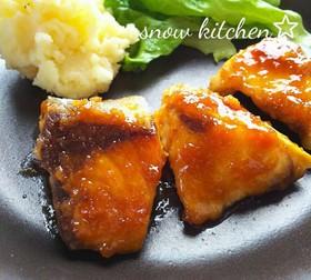 ぶりの生姜焼き