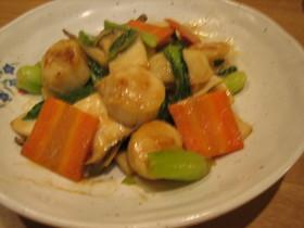~。:*ホタテと野菜のオイマヨ*:。~