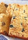 バットで作る黒豆の黒糖米粉パウンドケーキ