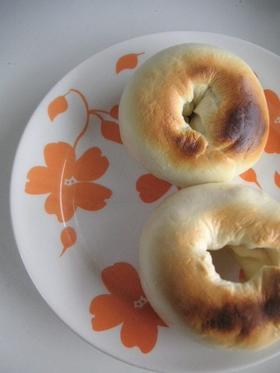 ベーキングパウダーで発酵なし簡単ベーグル