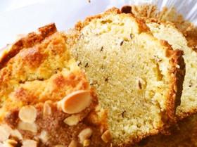 イギリスのキャラウェイシードケーキ