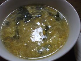 ふっわふわ卵スープ