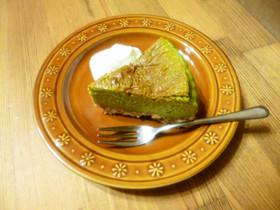 簡単♡抹茶チーズケーキ♪