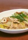 簡単!ちくわと白菜とえのき茸のささっと煮