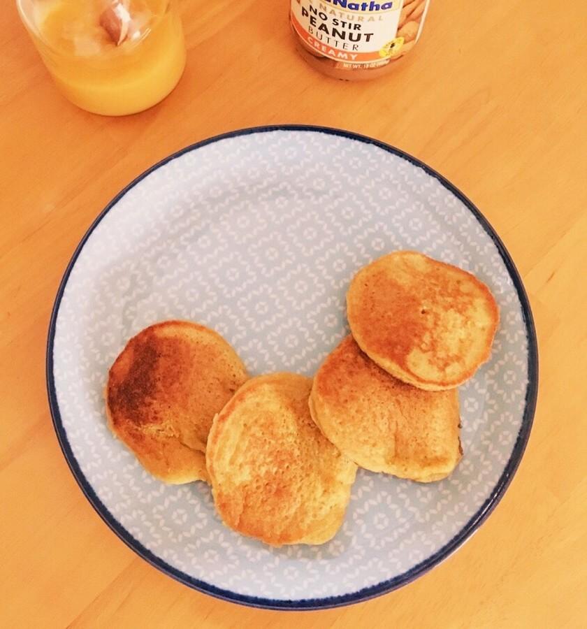 グルテンフリー♡キヌアパンケーキ
