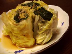 ◆◇白菜とほうれん草の簡単副菜◇◆