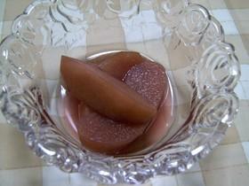 めっちゃ簡単!林檎の赤ワイン煮