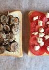 ラム&トマトのチーズサンドイッチ