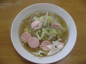 ソーセージスープ♪