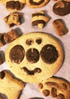 4歳娘ホットケーキミックスでクッキー作り