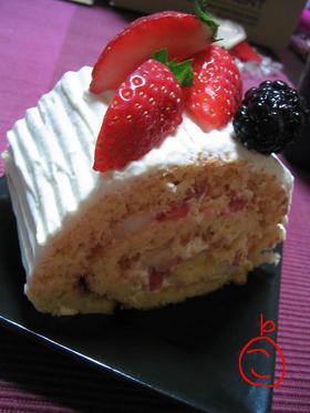 フルーツたっぷり★ロールケーキ