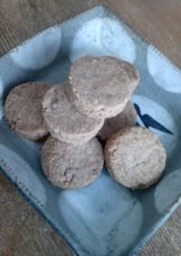 ココアとココナッツのクッキー