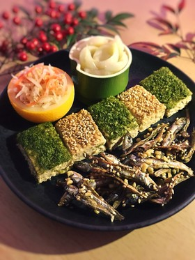 糖質制限◆お正月に簡単!松風焼き・のし鶏