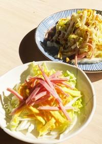 簡単!白菜サラダ☆芯の部分が最高です