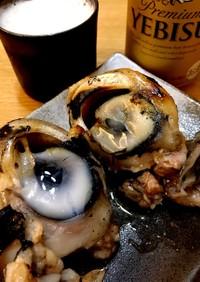 マグロの目玉の塩焼き