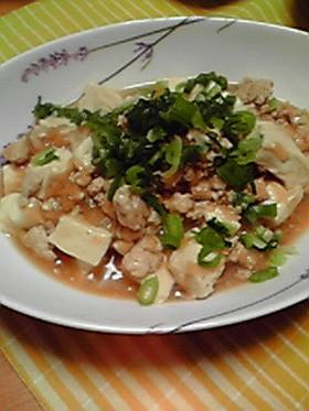 鶏☆麻婆豆腐