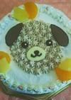 戌年⭐犬のデコレーションケーキ