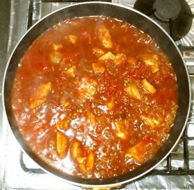 生姜カレー♪簡単カレールーとトマト缶