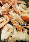 ホットプレートで♡蒸し焼き蟹♪