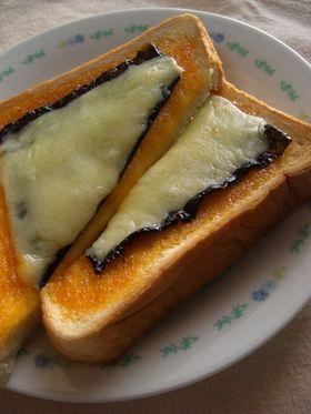 コチュマヨ☆海苔チーズトースト