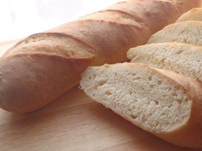 捏ねないパン★小麦薫るフランスパン