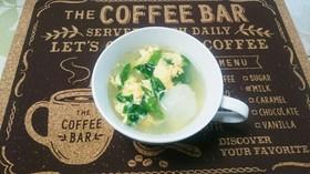 簡単美味!ダイエット!蕪と春雨の卵スープ