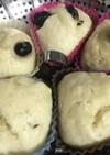 黒豆の蒸しパン
