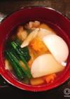 お正月 東京のお雑煮 関東風お雑煮
