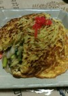 さっくりした卵と麺/❀梅蘭風の焼きそば❀